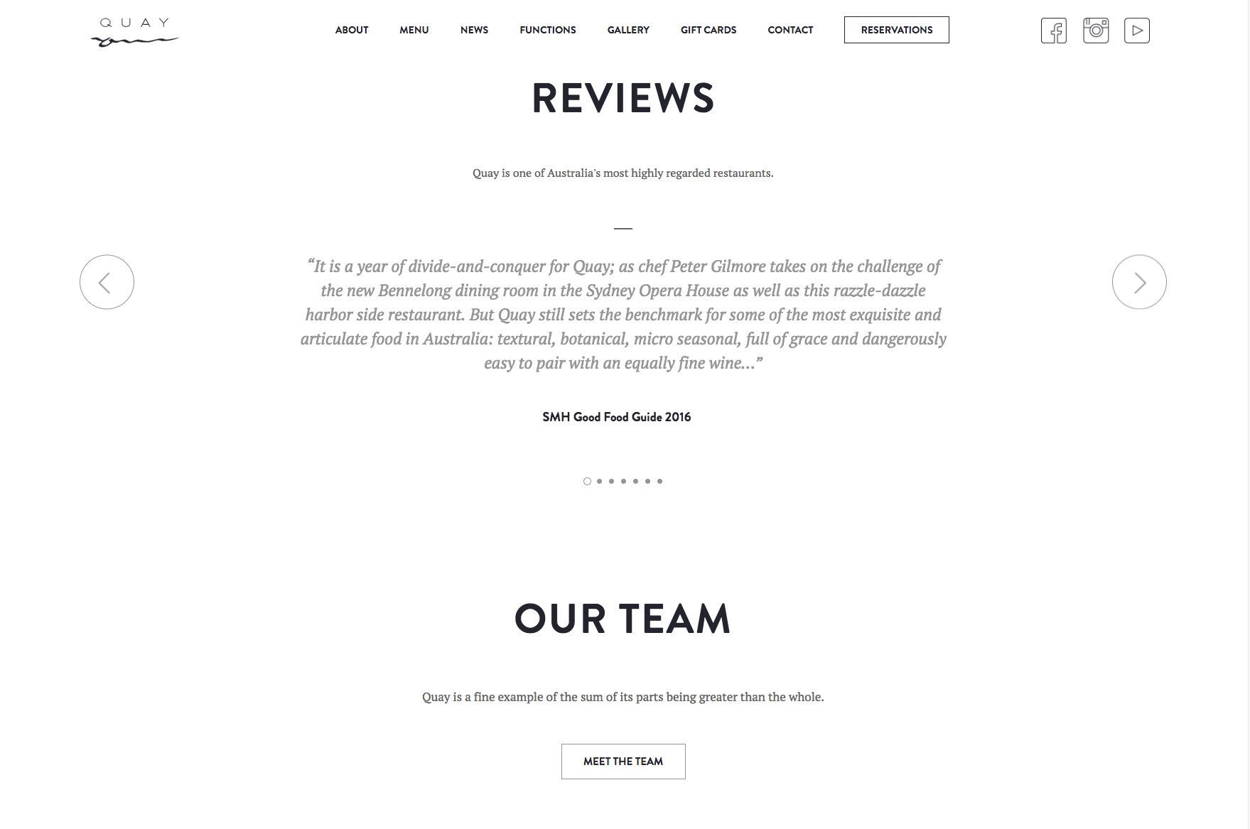 Quay Reviews-reviews are one of the overlooked restaurant marketing ideas